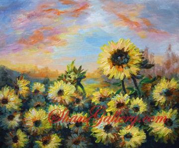 Sun Flow, ShanGallery.com