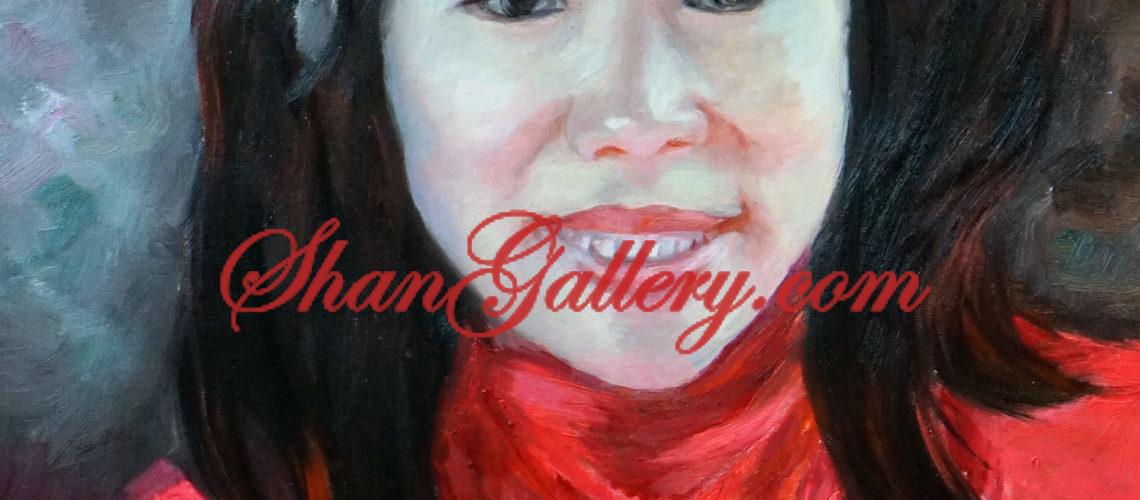 Portrait, ShanGallery.com, Shan Gallery, Vancouver, Canada